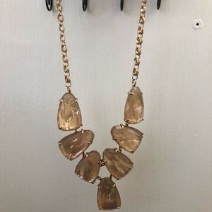 Kendra Scott Peach Mother of Pearl Harlow
